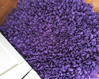 PURPLE RAG RUG,Nursery Rug,Easter Rug,Photo Prop,Child's Bedroom Rug,Accent Rug,Purple Decor,Purple Rug,Newborn Rug,Bedroom Rug,Rug,Purple