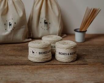 Biches & Bûches Petite, White + Beige + Yellow Mustard + Beige Grey Brown + Grey Beige Brown
