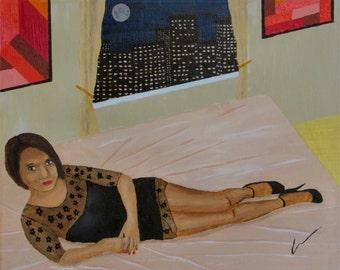 """HENRIETTA, 20x16"""" oil painting"""
