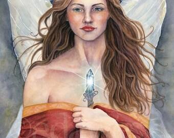 The Healing Fairy 8x10 Art Print