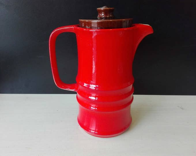 Jasba Orange coffee pot
