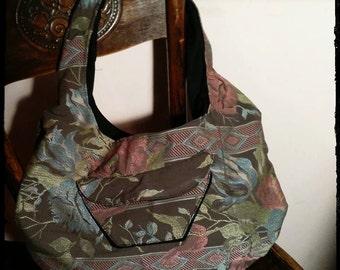 Handmade Italian woven bag