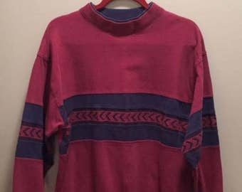 Vintage Sweatshirt / size medium/ by Members Only