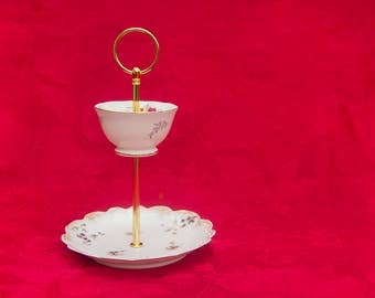 Delicate 2 Tier Jewelry Stand, Cake stand, cupcake stand