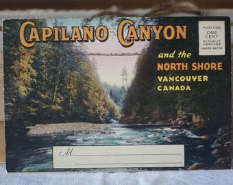 Vintage Vancouver images folder - Capilano Canyon and the North shore VANCOUVER, CANADA  - Vintage 1950s