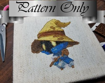 World of Final Fantasy - Cross Stitch Pattern - Vivi Ornitier
