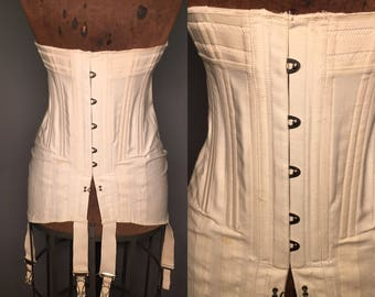 Antique edwardian or teens corset