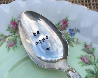Vintage Stamped Tea Spoon