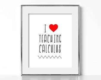 Gift for Math Teacher Digital Download