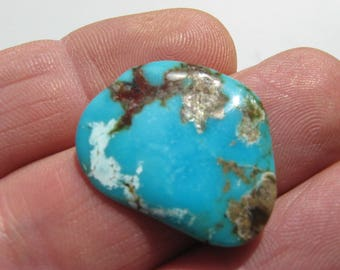 Thin Kingman Turquoise Cabochon Kingman freeform cab Kingman wirewrap cab turquoise gemstone Turquoise jewelry rough