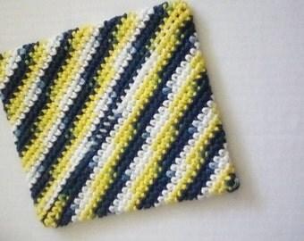 Crochet Double Thick Pot Holder Trivet Hot Pad Housewarming Gift Kitchen Gift Shower Gift