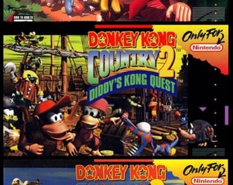 Donkey Kong Country 1-3