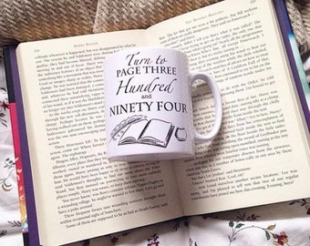 Harry Potter Turn to page 394 Gifts Mug Quill and Ink well unique gift