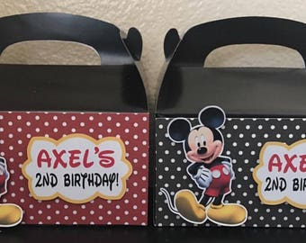Mickey favor boxes