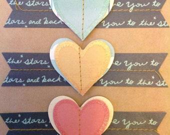 Handmade thank you card- thank you card- thank you