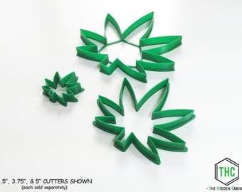 Kush Kutter - Marijuana Leaf Cookie Cutter