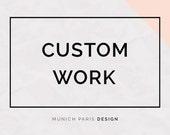 Styling Pattern and Custom Etsy widget