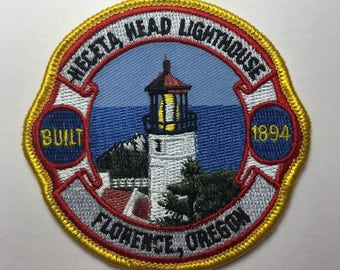 Florence Oregon Lighthouse Patch