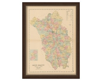 County Kilkenny - Memorial Atlas of Ireland 1901