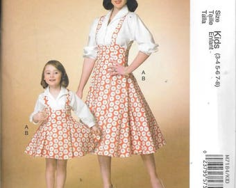 Misses Top and Jumper, Sizes SM Thru Xlg, New Mccalls Pattern 7184