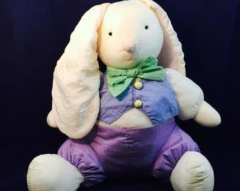 Vintage Russ Large Plush Easter Bunny, super Soft!
