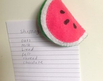 Magnet - watermelon -one supplied