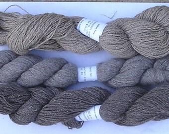 80/20 Wool/Angora Yarn in Natural Colors