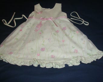 Thomas Light Green Girl Dress Size 2T