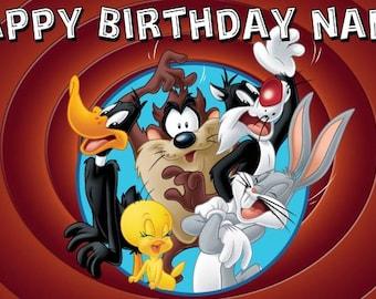 Looney Tunes Birthday Banner