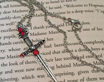 Sword of Gryffindor Necklace