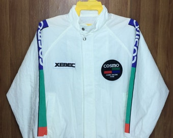 Vintage COSMO RACING Jacket Back Spell out