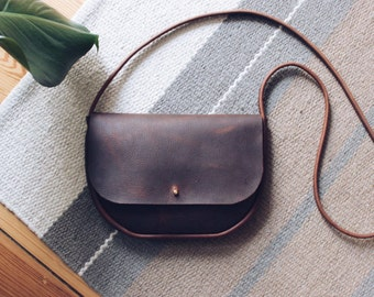 braune Leder Tasche, Leder Handtasche, Leder Umhängetasche, Schultertasche, boho, crossbody bag