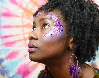 Pink Unicorn Glitter • Festival Glitter •  Glitter Makeup • Chunky Cosmetic Glitter | Dance - Eyes, Lips, Face | Face Paint Glitter