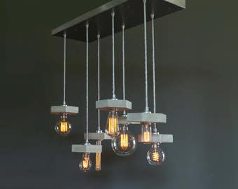 "Vintage pendant lamp ""7lights_FAVO"" incl. Bulbs"