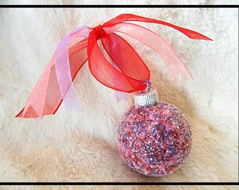 Valentine Ornaments, Valentines Day Ornaments, Valentines Day Gift For Her  Valentines Day Decor,