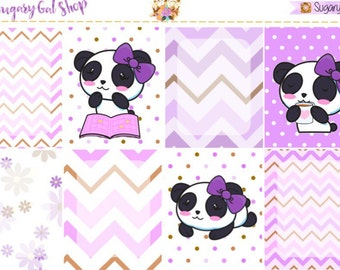 Panda Planner Sticker Kit