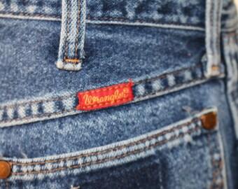 Wrangler High Waisted Jeans 70's/80's