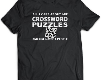 Crossword Puzzle Gift, Crossword Apparel, Crossword Clothing