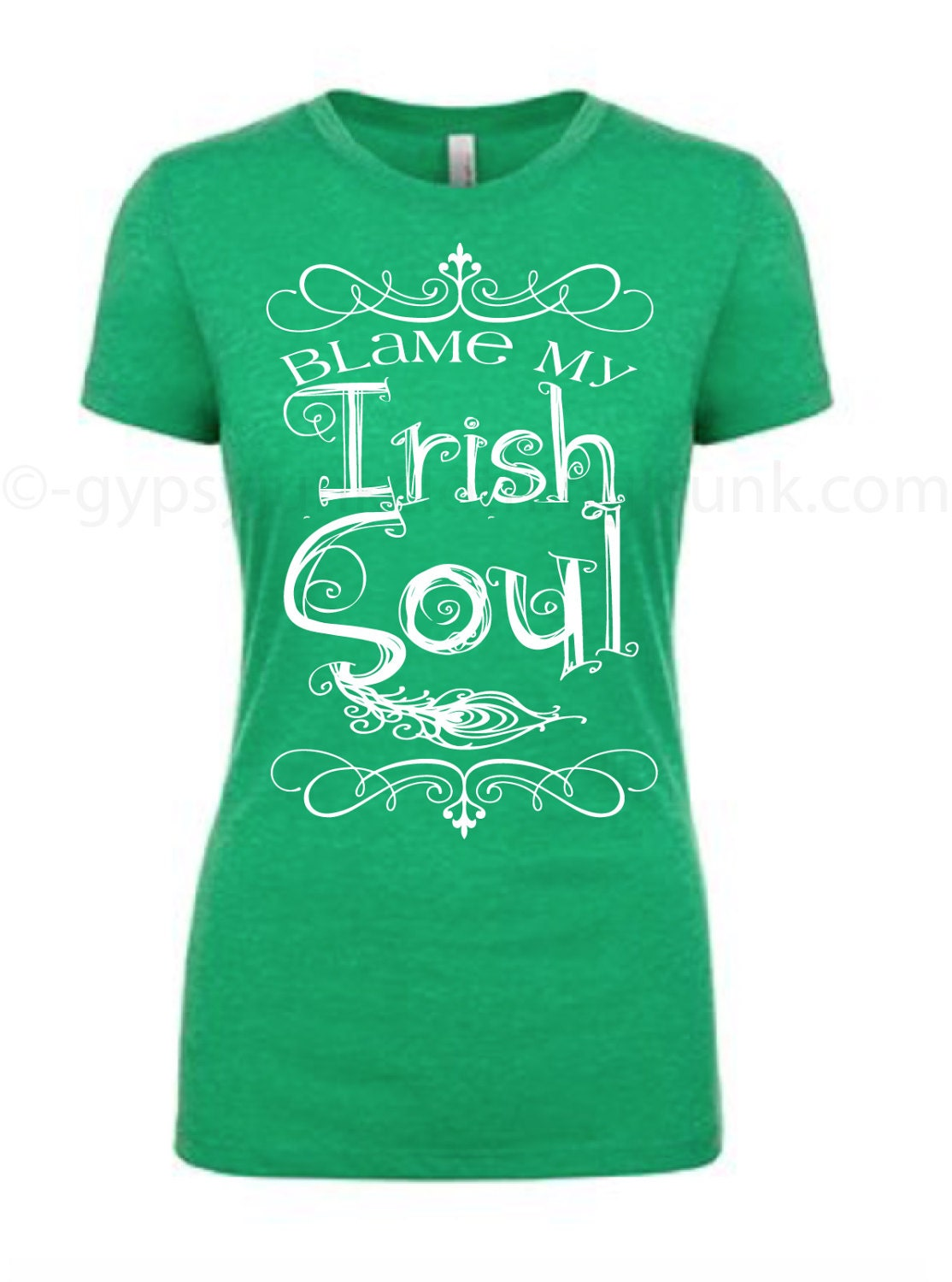Irish Soul T Shirt Irish Shirt St Patty Day Top St