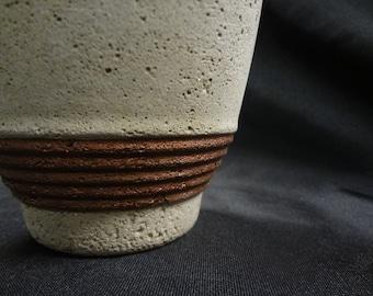 Concrete Vase/Cement Planter/Concrete Bronze Vase/Natural Cement