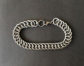 Titanium HP 4 in 1 Chainmaille Bracelet