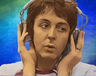McCartney in Studio