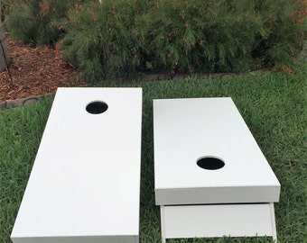 Unfinished Cornhole / Bag Toss Boards w/Bags