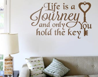 Life is a Journey Wall Sticker Decal Art