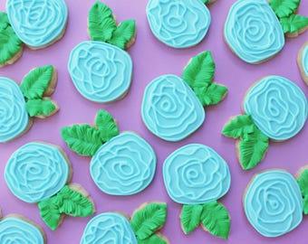 Flower Sugar Cookies // Decorated Sugar Cookies