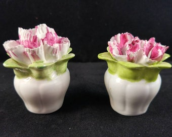 Bone china Tiny flower pots