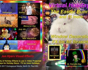 All Seasons Holiday Decoration Digital Files