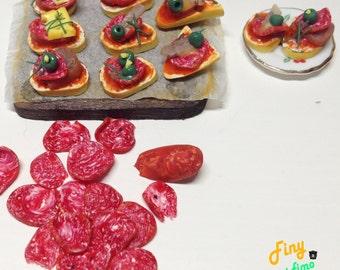 Diorama pinxo salami