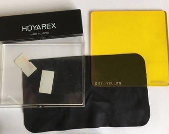 Camera Filter Hoyarex 041 Yellow Filter Film Camera Filter 35mm Camera Filter Real Film Camera Filter Vintage