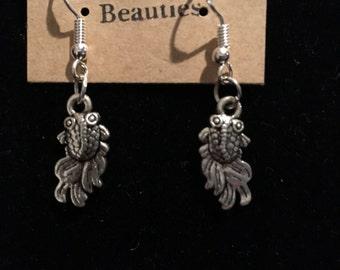 Koi Goldfish Earrings